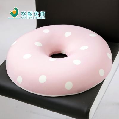 格藍傢飾 水玉涼感舒壓甜甜圈-草莓粉