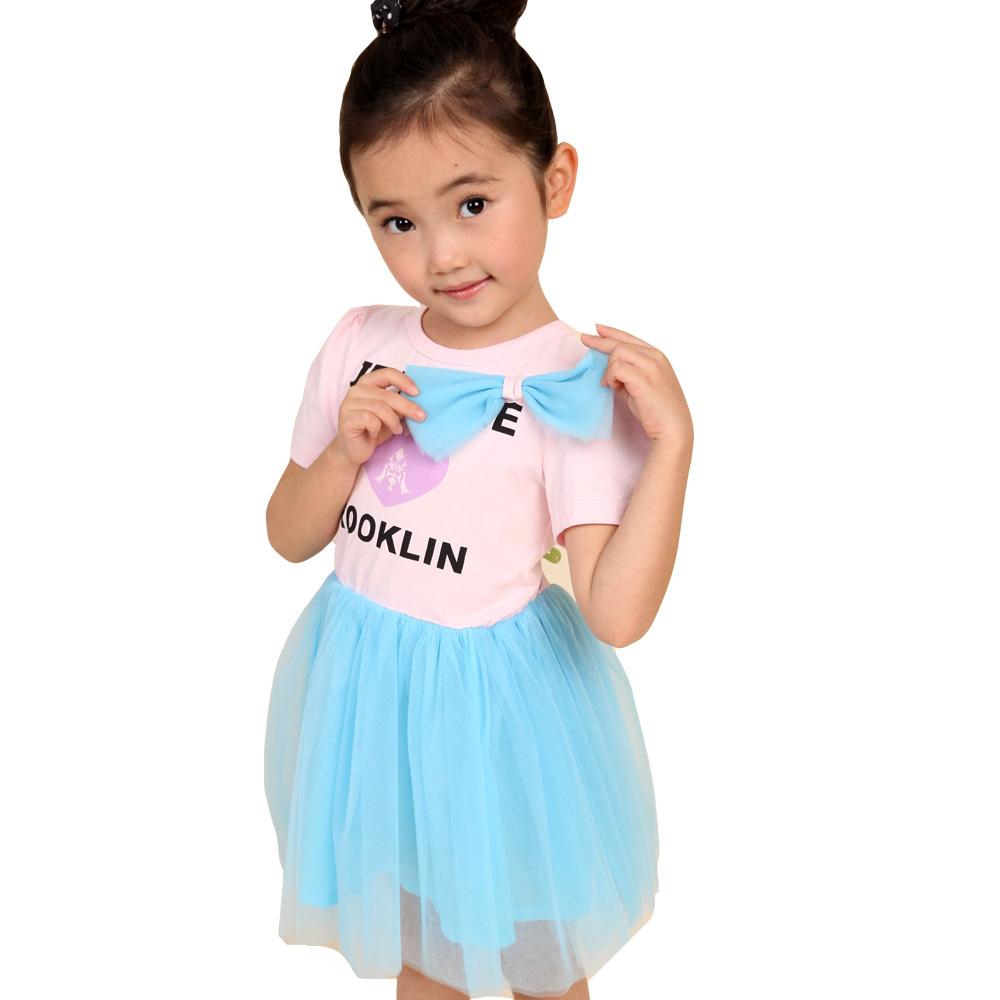 魔法Baby 女童蕾絲裙洋裝 k34387
