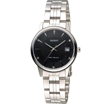 ORIENT 東方錶 日系簡約時尚優雅腕錶-黑/32mm
