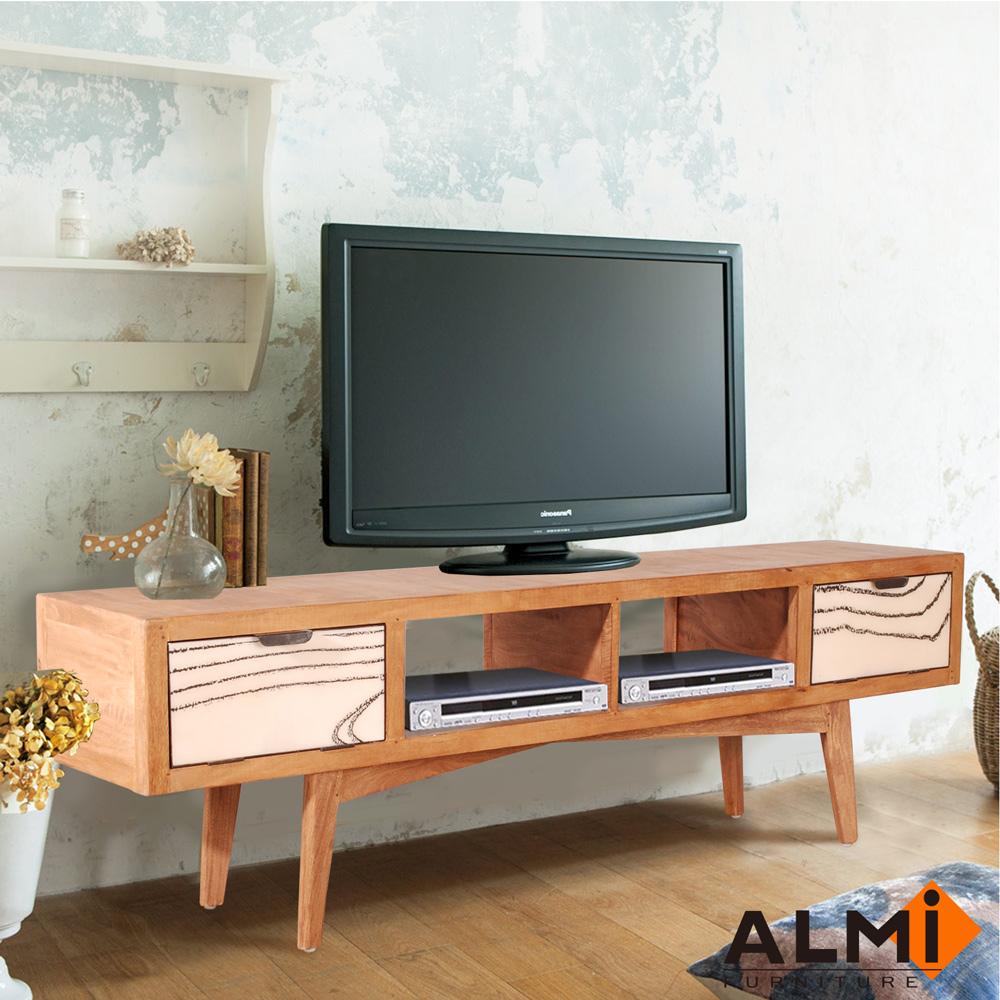 ALMI-TV 2 TRAPS 雙門電視櫃W189*D40*H58CM
