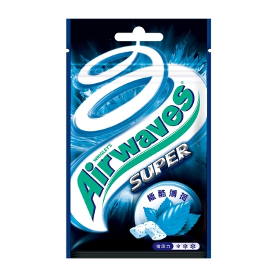 Airwaves 無糖口香糖極酷嗆涼薄荷口味(20粒)