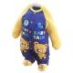 魔法Baby  台灣製嬰幼兒保暖刷毛包屁衣k44218