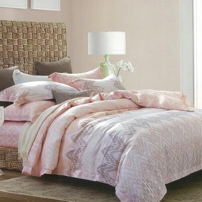 LAMINA 格蕾絲 100%天絲四件式兩用被套床包組(雙人)
