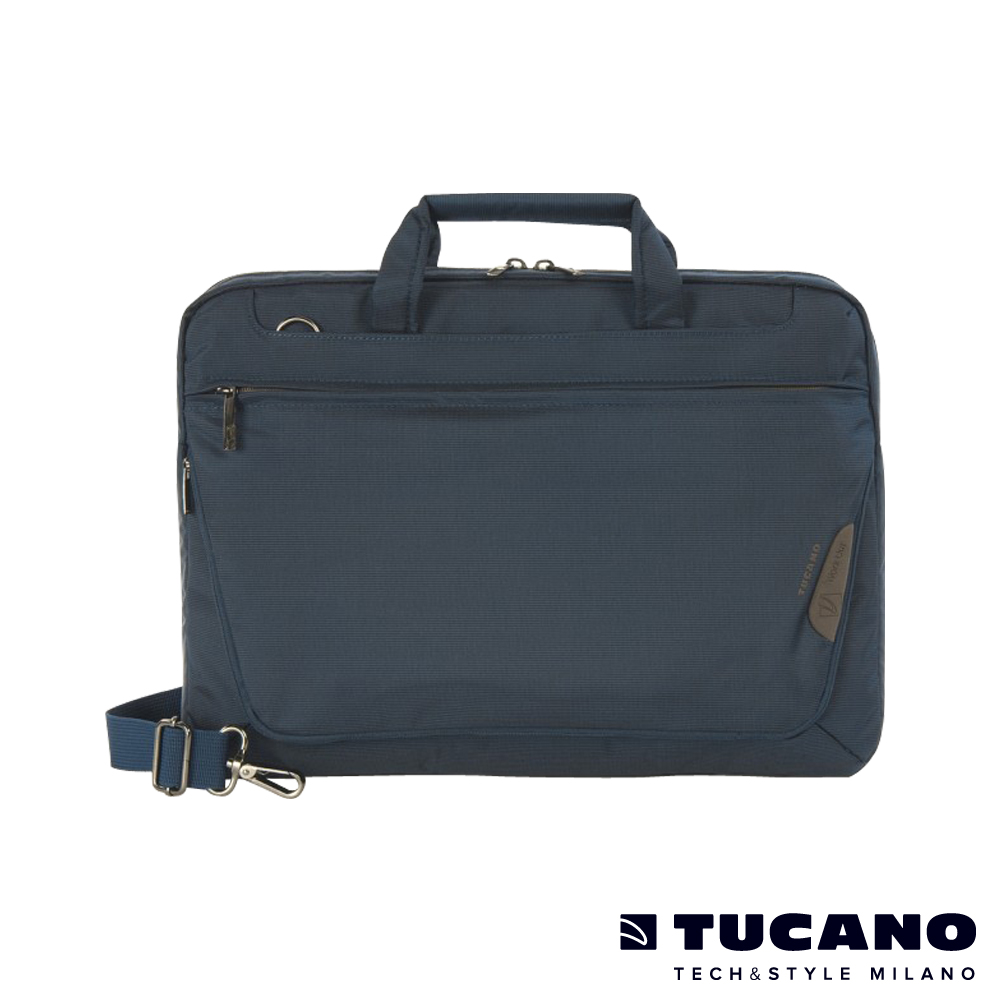 TUCANO WORK_OUT Expanded MB 多功能商務側背包15吋(適用16吋) 藍