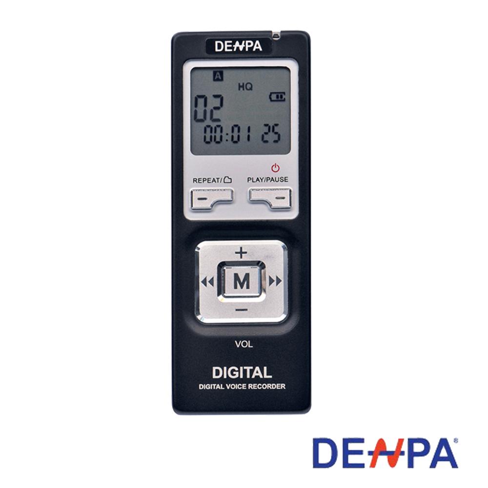 DENPA插卡式數位錄音筆2GB(F-103)