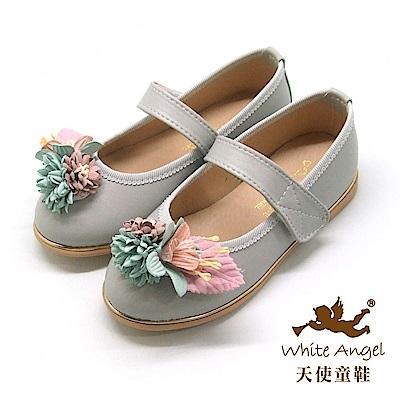 天使童鞋 杜樂莉花園公主鞋 J8006 -灰