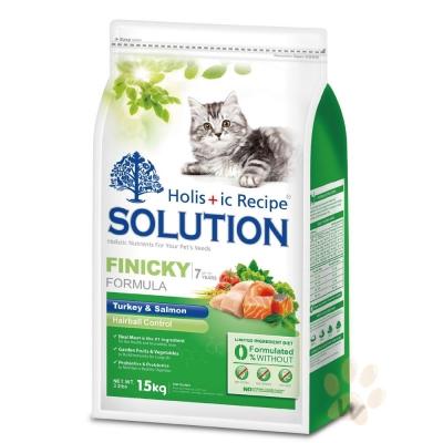 耐吉斯SOLUTION 綠茶成幼貓化毛配方3kg 2入
