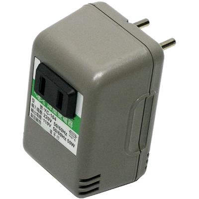 50W220V變110V旅行用電源降壓器(YC-104)