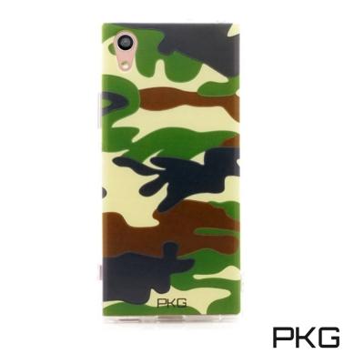 PKG 小米A1 彩繪空壓保護殼-浮雕-軍事迷彩
