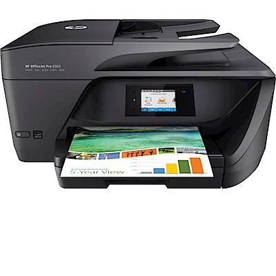 HP OfficeJet Pro 6960 All-in-One 印表機