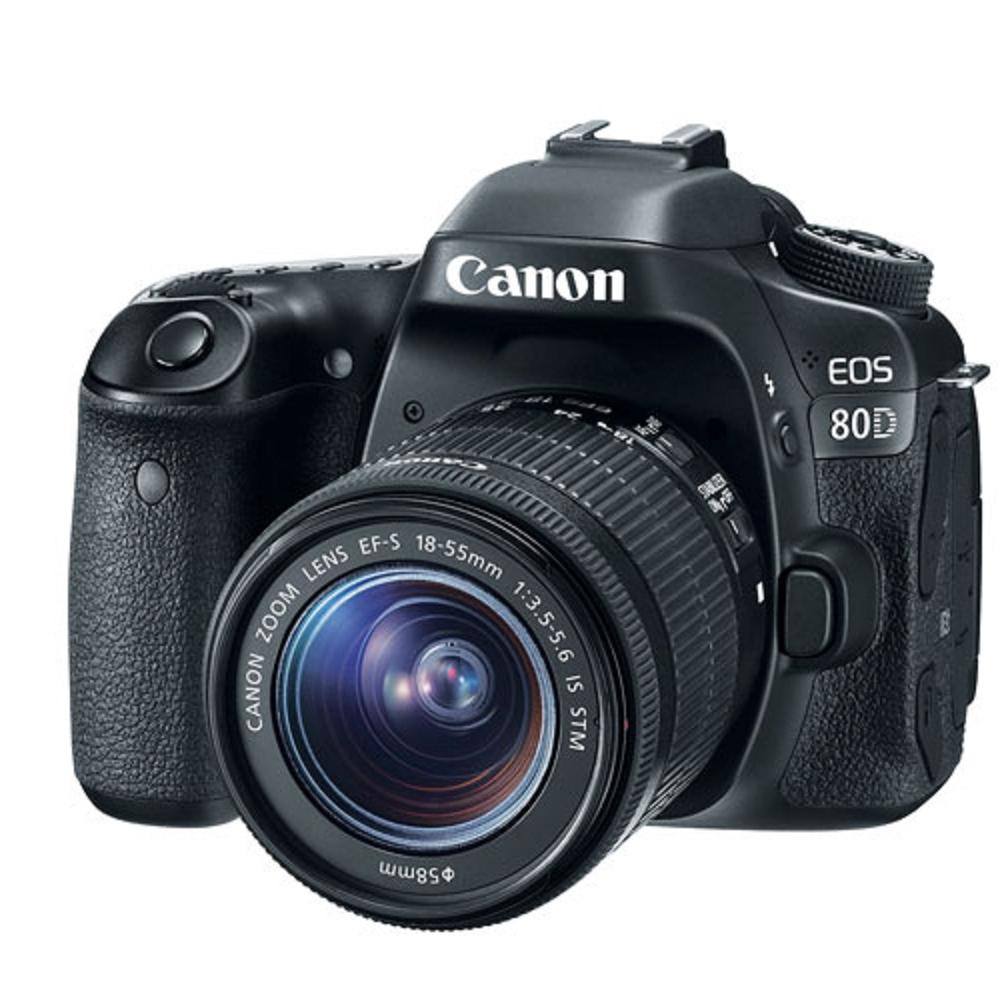Canon 80D + 18-55mm STM 變焦鏡組(平輸中文)
