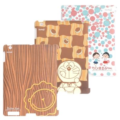 iPad2-櫻桃小丸子-哆啦A夢-奶油獅-背蓋