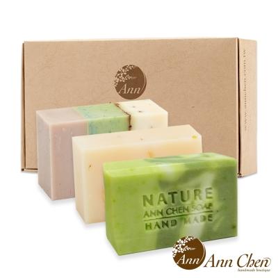 陳怡安手工皂-夏日蘆薈修護柔和三入禮盒