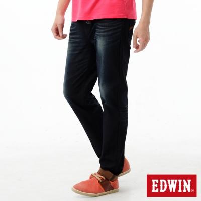 EDWIN-AB褲-迦績褲JERSEYS雙色牛仔褲-男-桔色