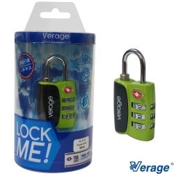 Verage維麗杰 城市系列TSA海關密碼鎖(綠)