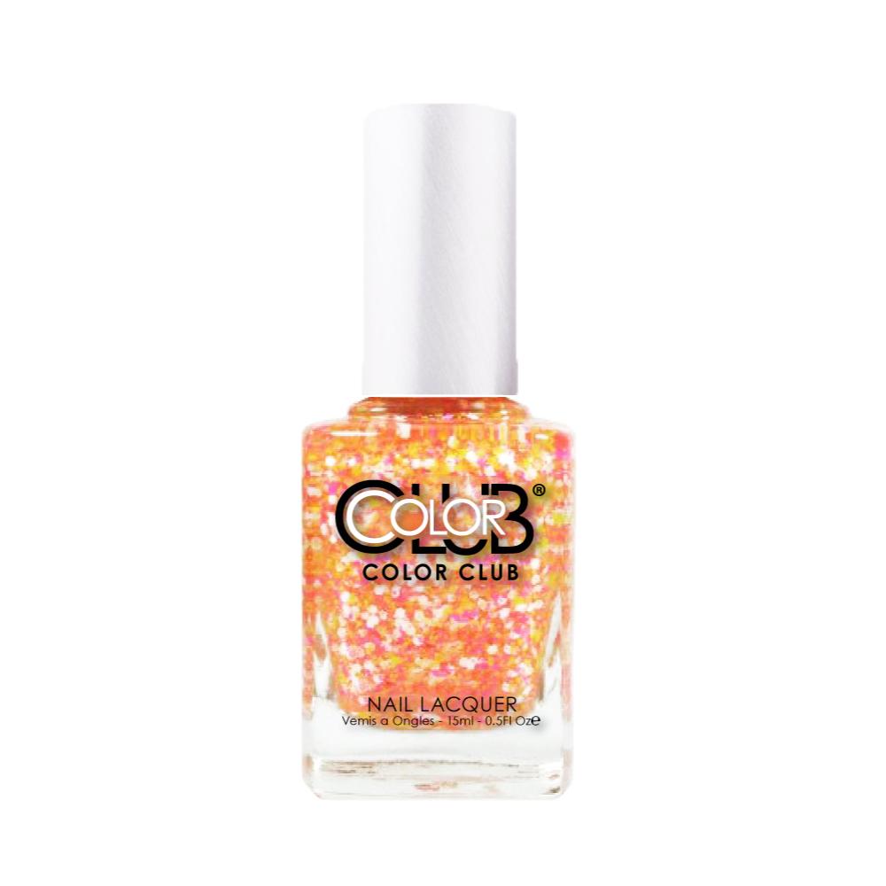 COLOR CLUB 指甲油 ANR02 橘子汽水-異材質