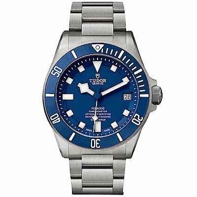 (現金分期24期)TUDOR帝舵PELAGOS專業潛水錶 藍水鬼-42mm