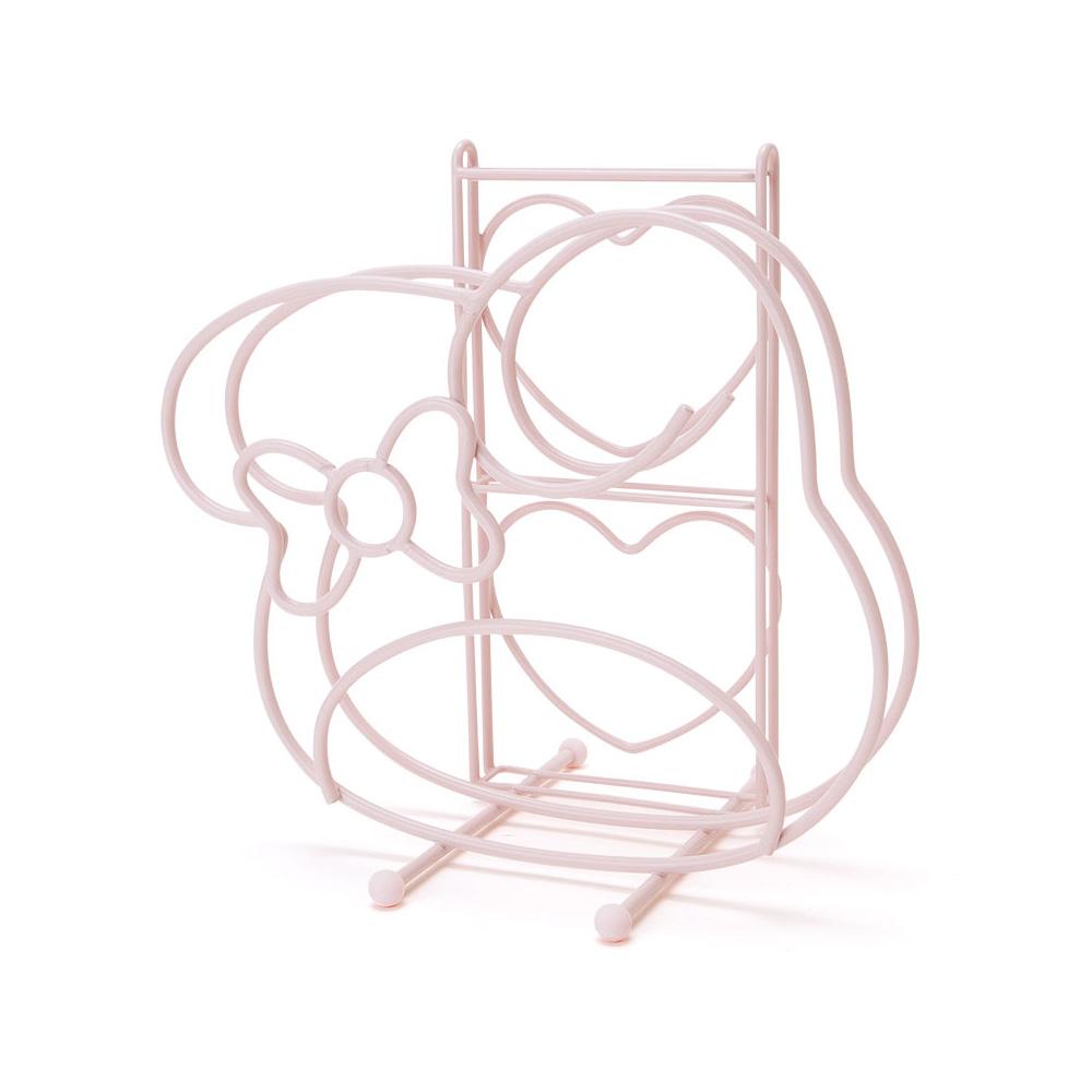 Sanrio美樂蒂緞帶新生活系列砧板菜刀收納架