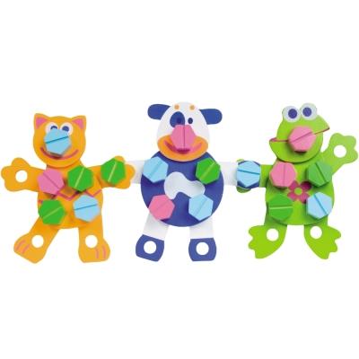 法國Boikido木製玩具-動物創作組54片