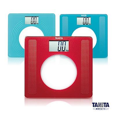 日本 TANITA 大螢幕超薄電子 體重計 HD-381 (三色任選)