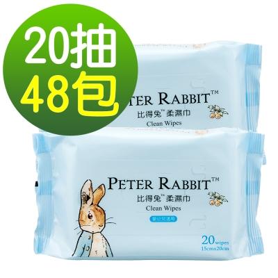 奇哥 比得兔柔濕巾20抽48包