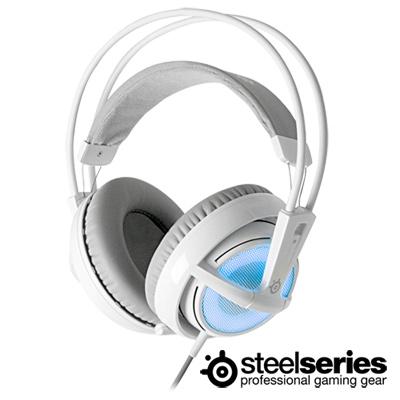 SteelSeries-西伯利亞V2-USB-頭戴式耳機麥克風-湛冰藍