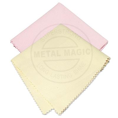 金屬魔法師-金屬銀飾珠寶基礎清潔亮光擦拭布2入