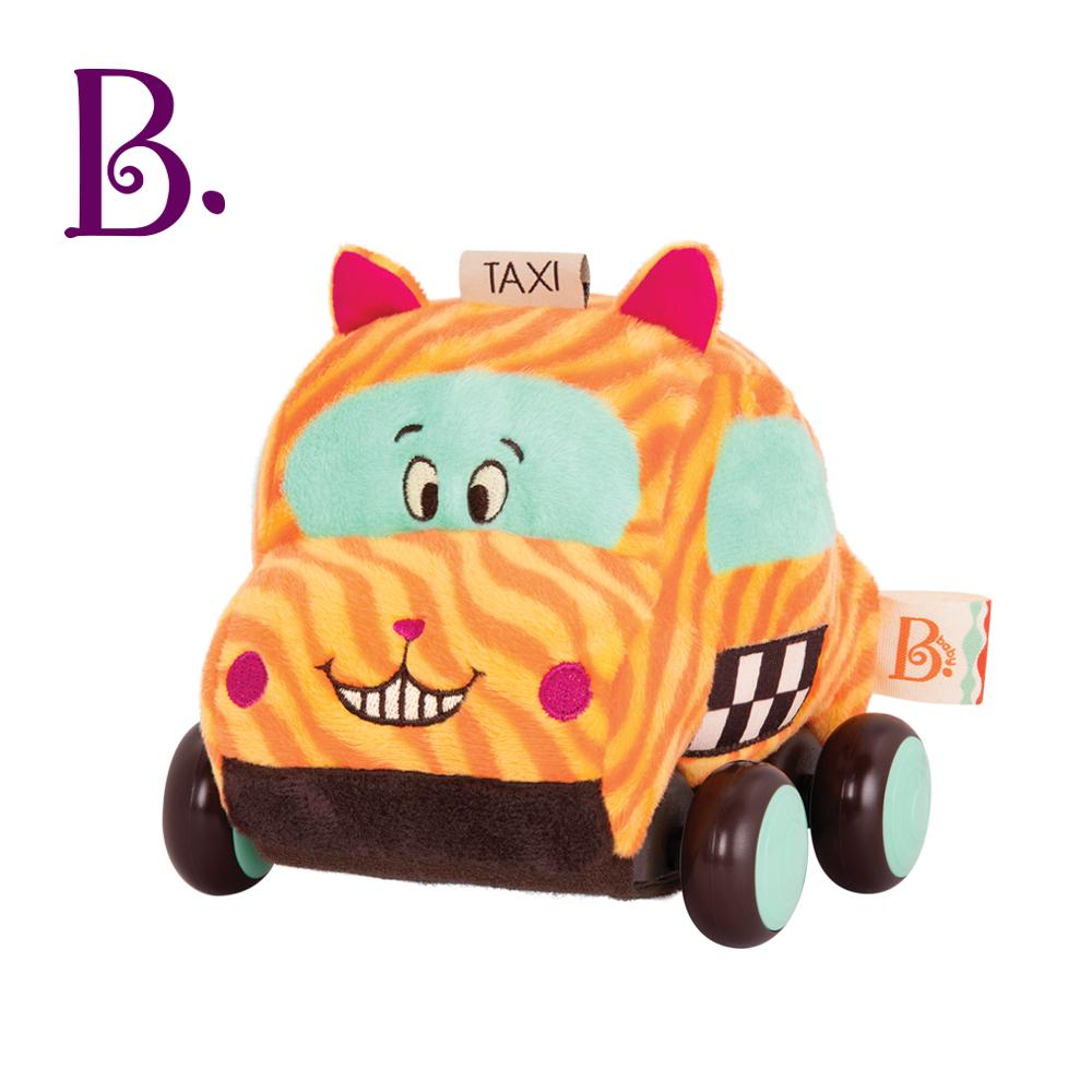 美國【B.Toys】芬達狗/酪梨兔/凱比貓 迴力車-三款任選