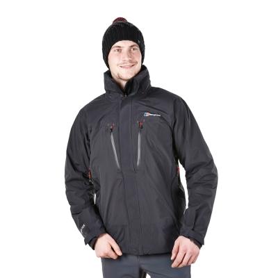 【Berghaus貝豪斯】男款GT2合1溫度調節高科技棉防水外套H22MT1黑