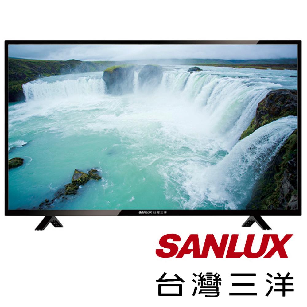 台灣三洋SANLUX 43吋 LED背光液晶顯示器+視訊盒 SMT-43TA1