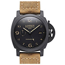 (展示福利品)PANERAI 沛納海 Luminor PAM441 GMT 黑陶瓷腕錶-44mm