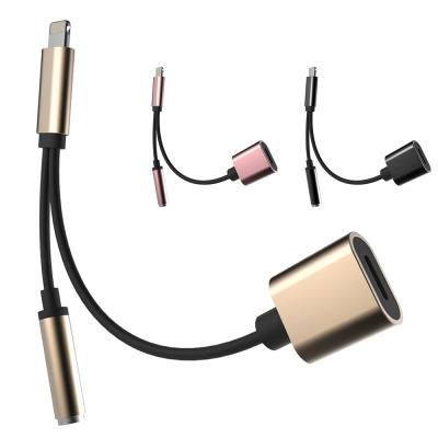 SJJ APPLE IOS耳機轉接線支援耳機線控聽音樂邊充電