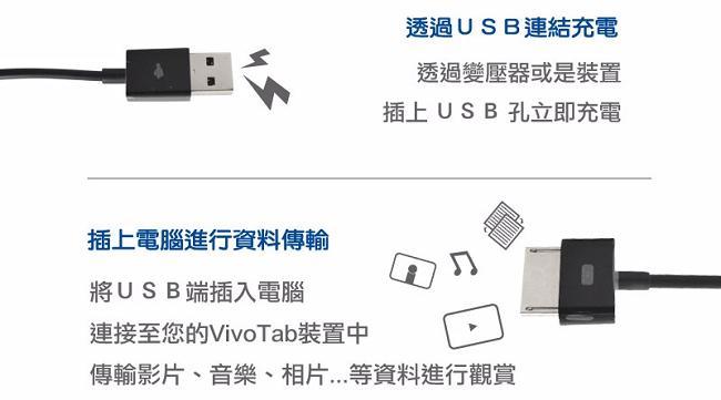 ASUS原廠TF701 / TF600 / TF810 / TF502 USB充電傳輸線
