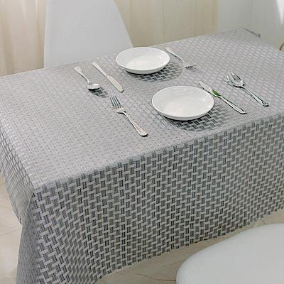 伊美居 - 藤格防潑水桌巾 - 單片140x120cm (共1片)