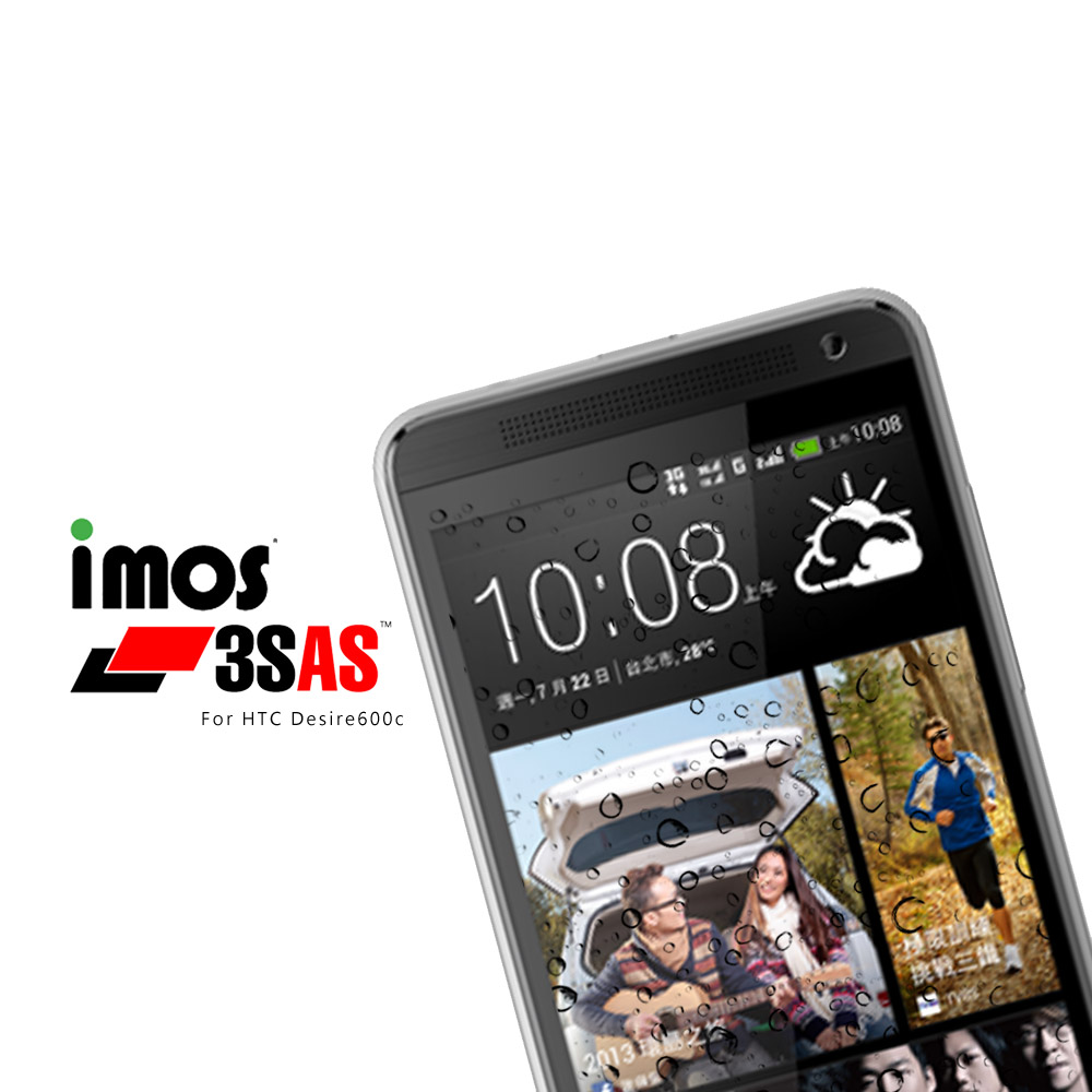 iMos-HTC Desire 600c 超疏水疏油保護貼