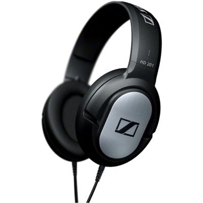 SENNHEISER開放式高傳真耳罩式耳機HD201