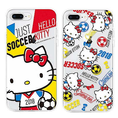 GARMMA  Hello Kitty iPhone 7/8 防摔軟殼 世足限定