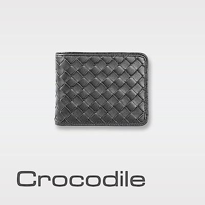 Crocodile Knitting系列零錢袋款短夾 0103-6003
