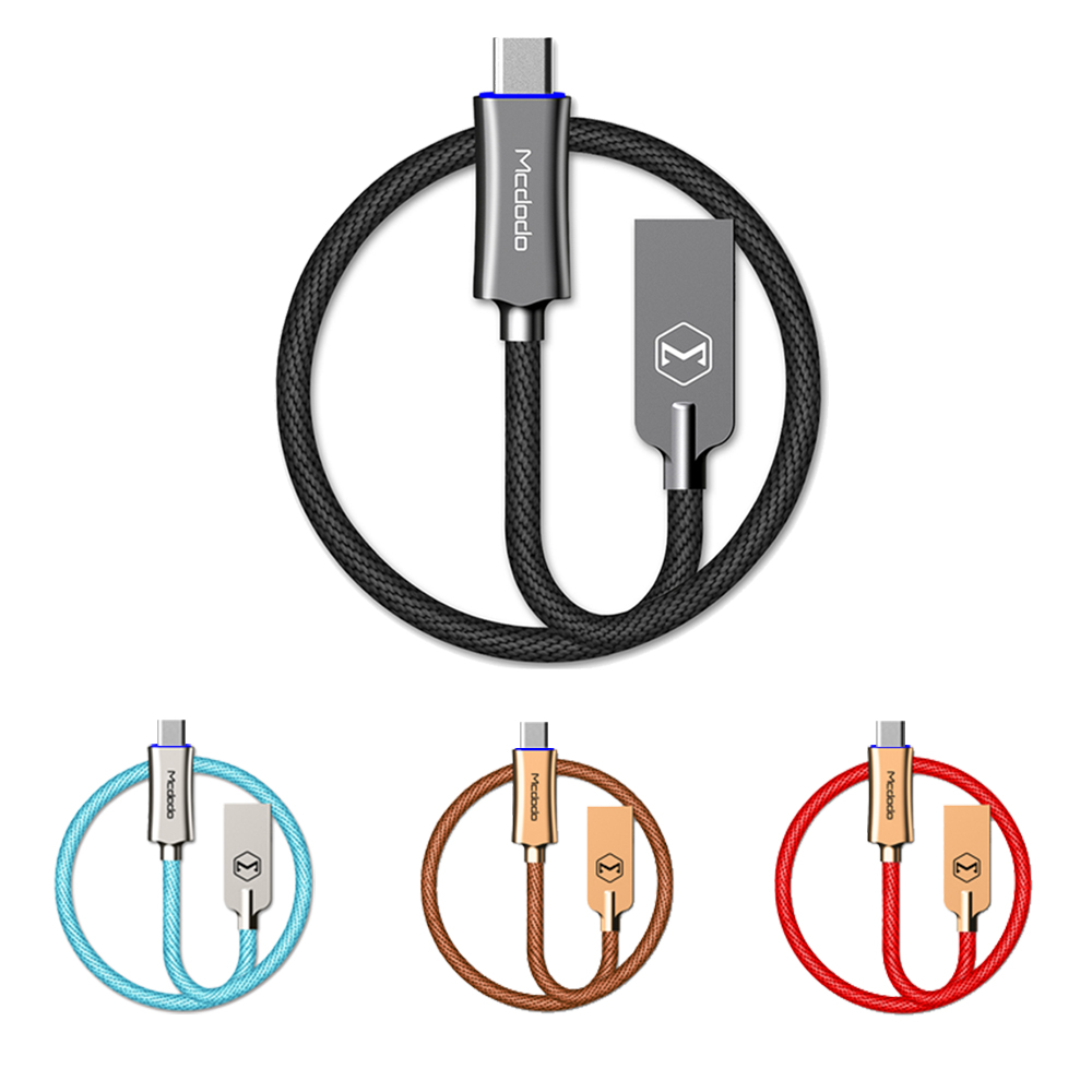 Mcdodo Lightning充電線 智能斷電 快充 呼吸燈 快充線