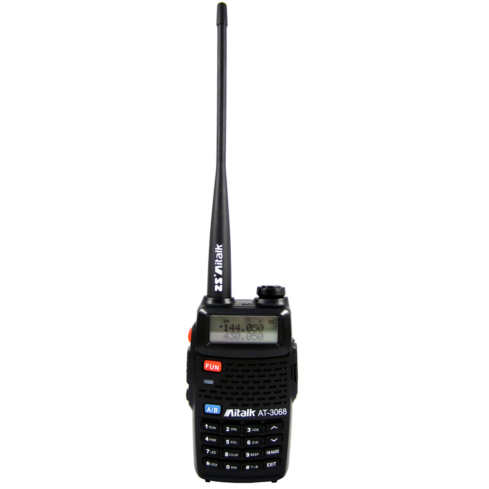 Aitalk VHF UHF 雙頻無線電對講機 AT-3068