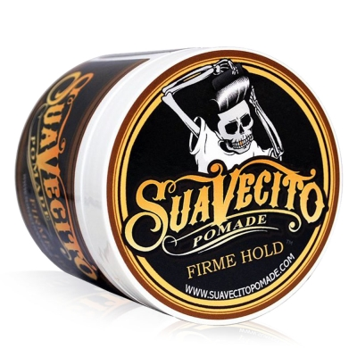 Suavecito Pomade Strong Hold 骷髏頭 水洗式髮油113G