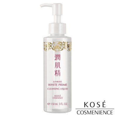 KOSE高絲 植淬白 潤肌精 潔淨透潤卸妝液 150mL
