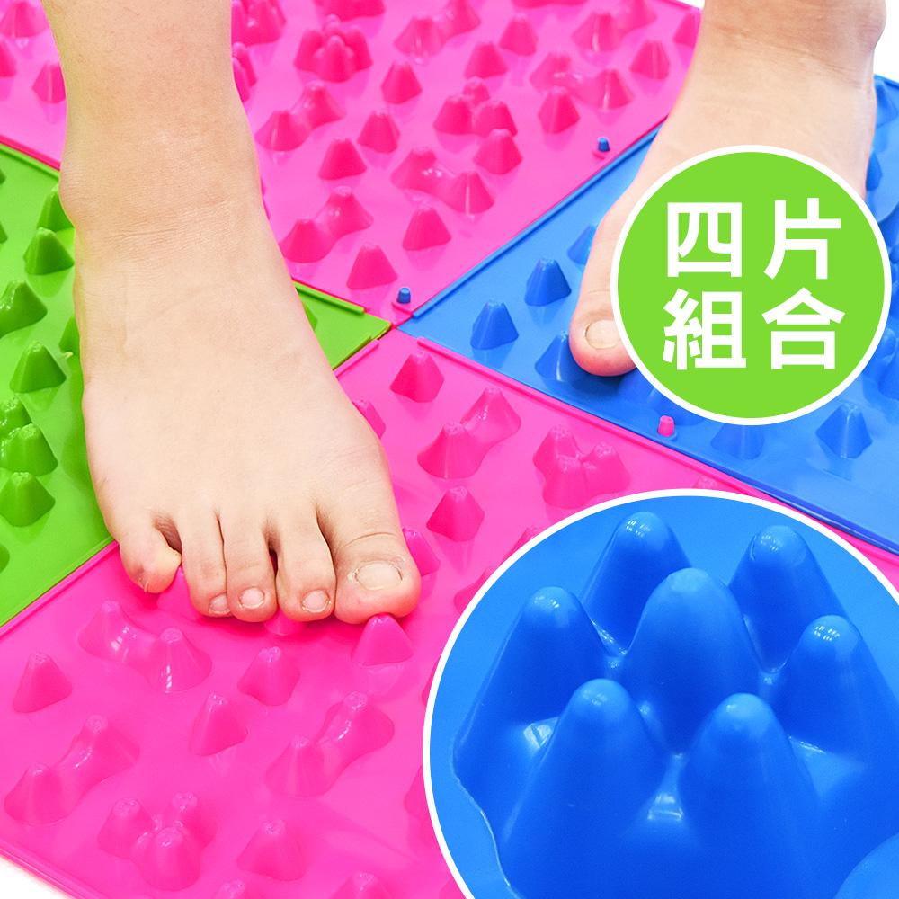 腳底按摩器TPE小冬筍指壓板(4片)