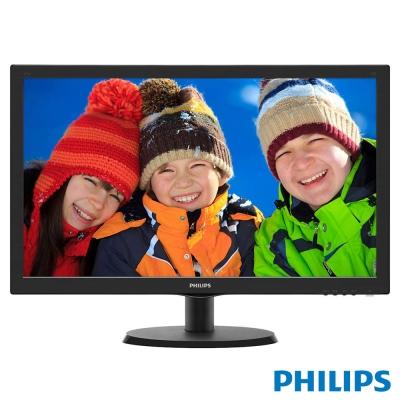 PHILIPS 223V5LHSB2 22型 動態強化電腦螢幕