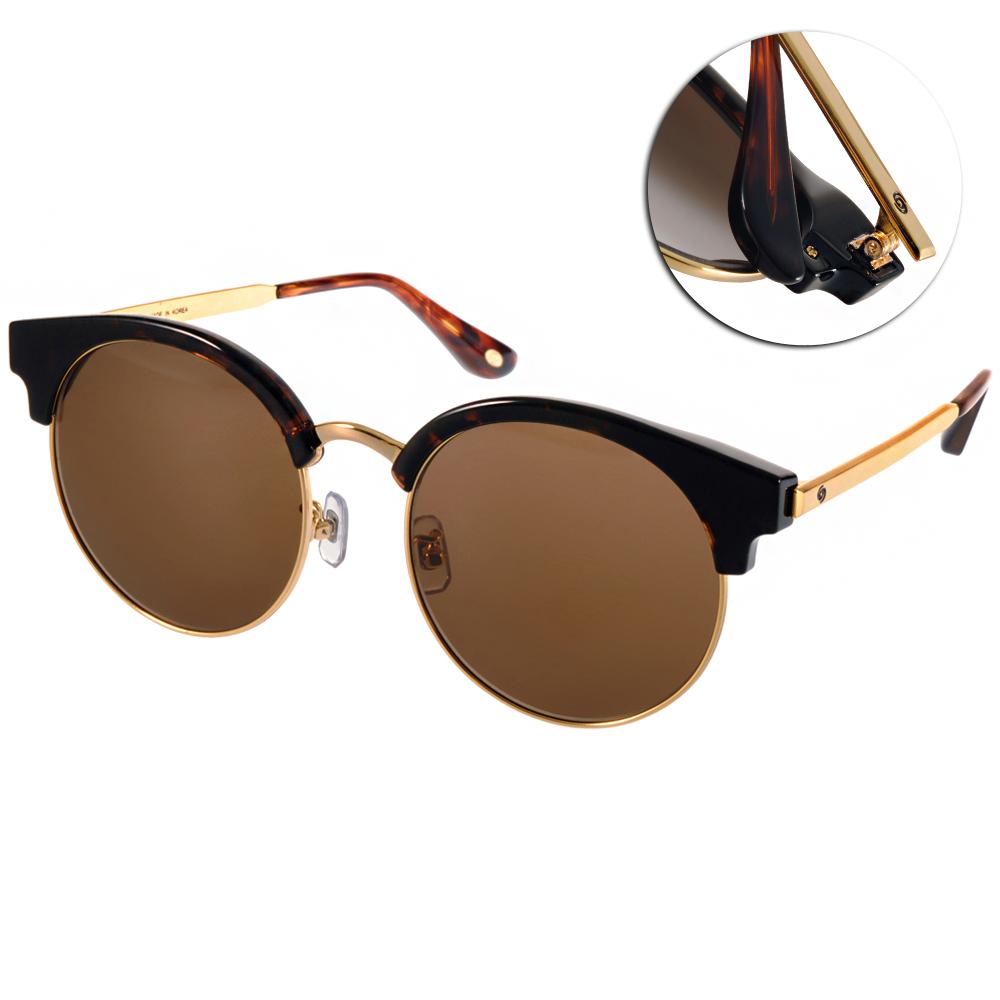 Go-Getter太陽眼鏡 韓系貓眼款/琥珀棕-金#GS4005 C05