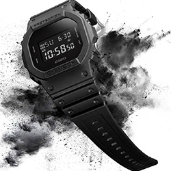 G-SHOCK 新經典代表個性霧面數位休閒錶(DW-