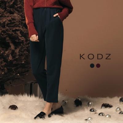東京著衣-KODZ 雜誌簡約率性百搭設計老爺褲-S.M.L(共二色)
