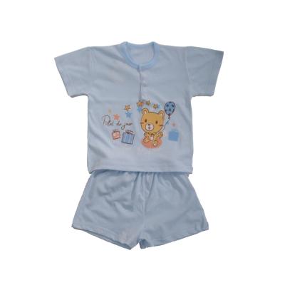 魔法Baby 台灣製純棉居家短袖套裝(<b>2</b>套一組銷售) k40906