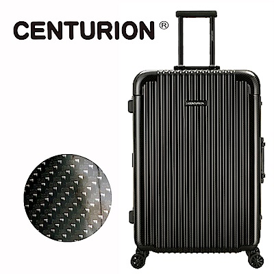 CENTURION美國百夫長29吋行李箱-奧蘭多黑mco(鋁框箱)