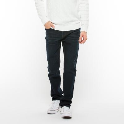 Hang-Ten-男裝-潮流合身牛仔長褲-深藍